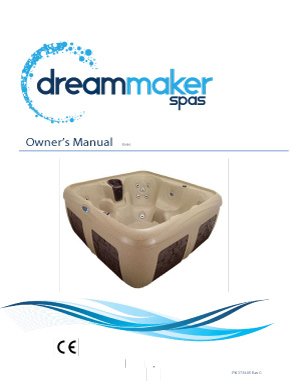 DreamMaker Spa Owner's Manual